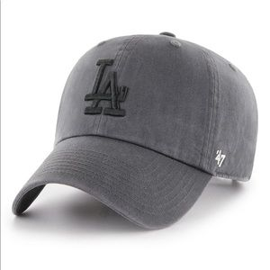 '47 Clean up LA Dodgers Baseball Dad Hat in Grey